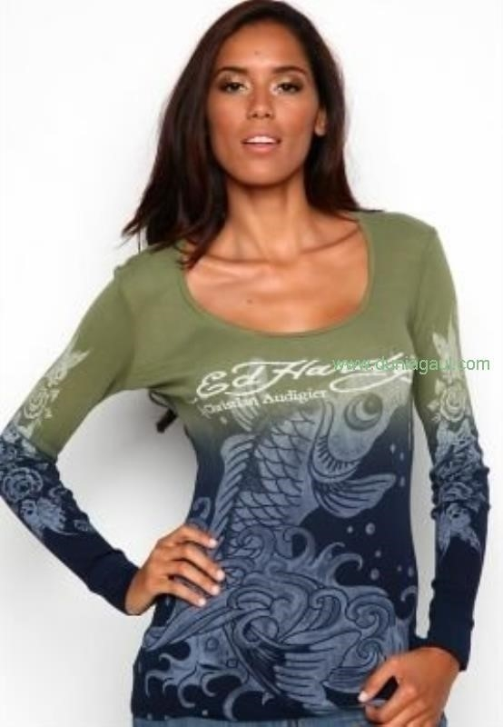 Buy Womens Long Sleeve-2589ed hardy clearanceed Price Artistic ukBest hardy Discount clothes BFJRWX2589